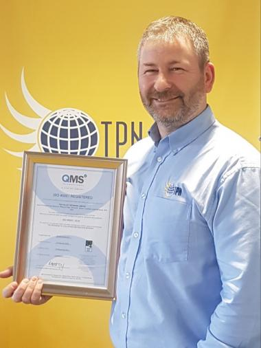 TPN wins new health and safety accreditation ISO 45001
