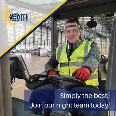 VACANCIES: Fork-lift drivers for superb night-shift team at Minworth